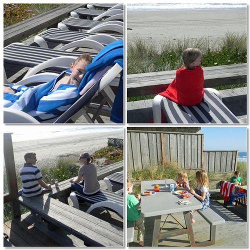 Beachhouseeatingdayone
