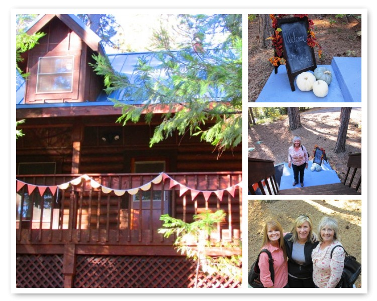 Cabin-weekend-welcome