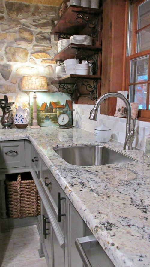 Cabin kitchen art