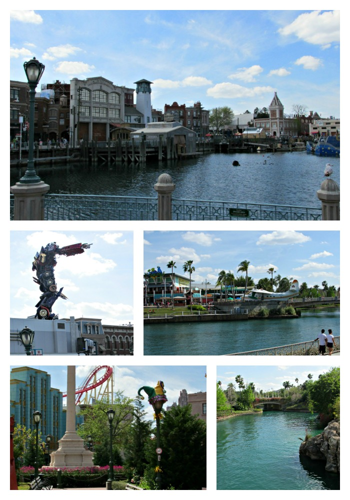 Orlando Florida universal  Collage