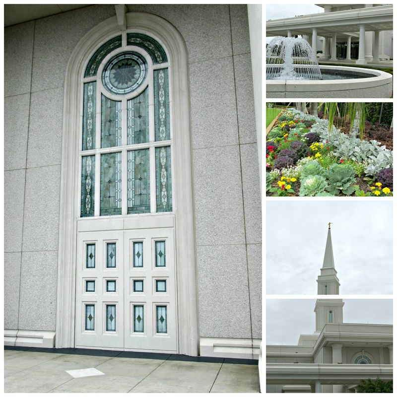 Orlando florida temple Collage