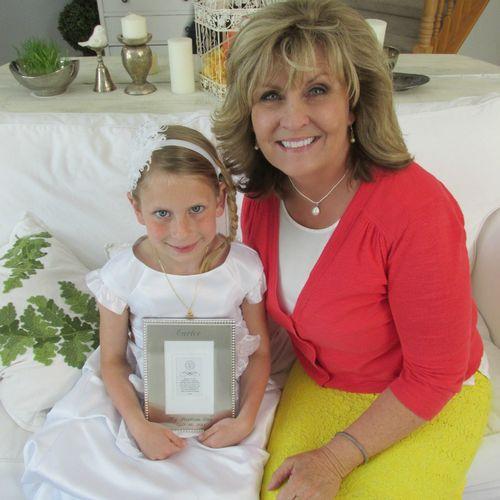 Carlee and grammer baptism
