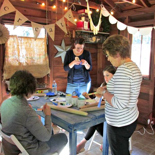 Cabin cooking class- crafts