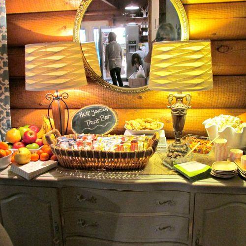 Cabin treat bar
