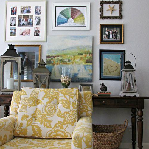 Yellow chair 10