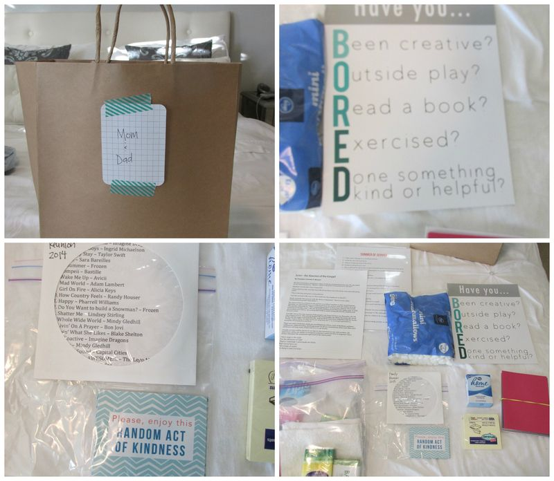 Kind and helpful bag Collage