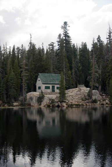 Lake alpine house