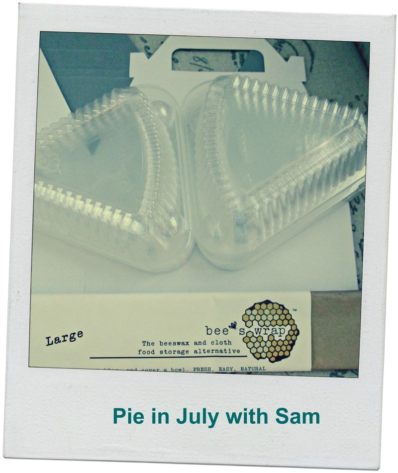 Pie in July with Sam