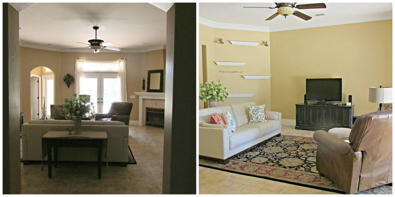 Catheys valley family room Collage