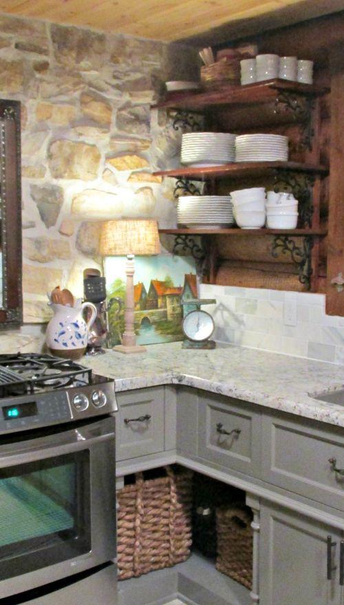 Cabin kitchen lamp