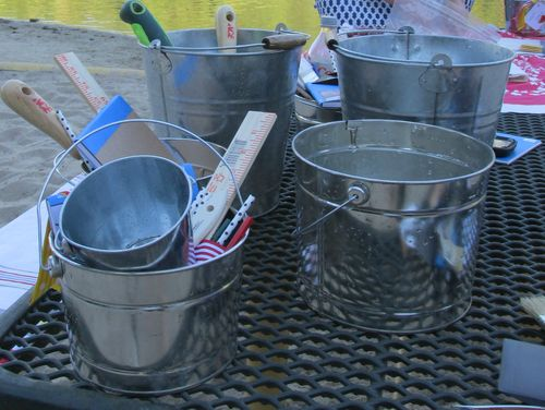 Sandcastle buckets