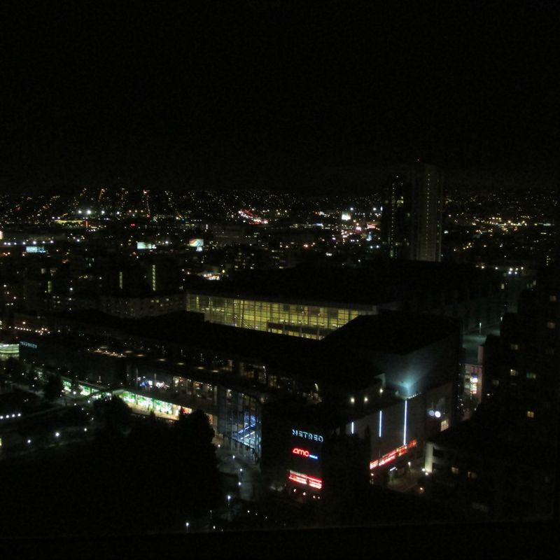 San Francisco from our room at night