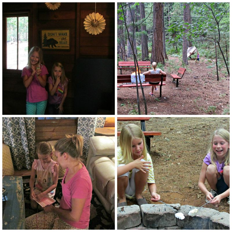 Cabin play Collage