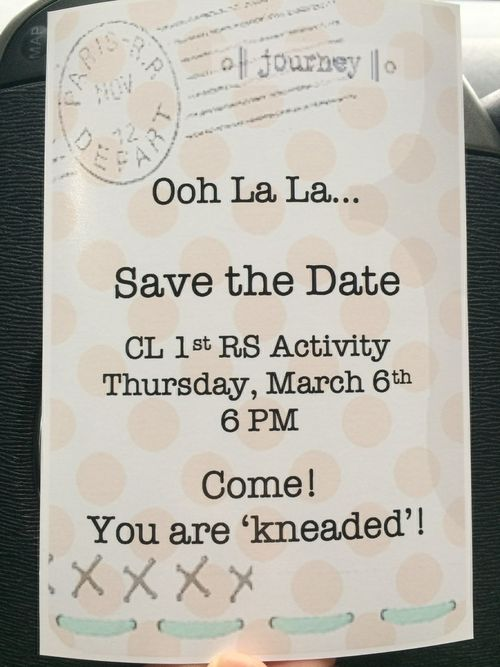 Rs save the date