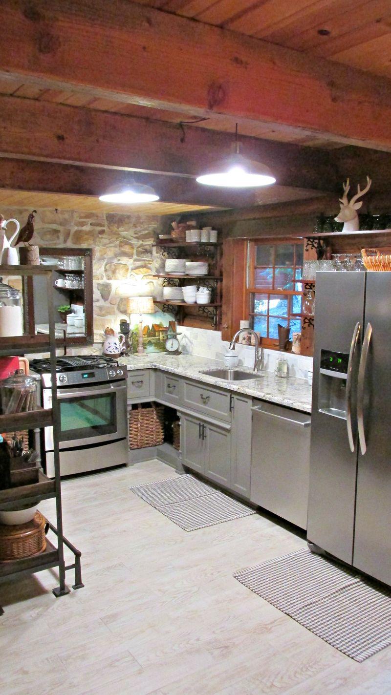 Cabin kitchen lights