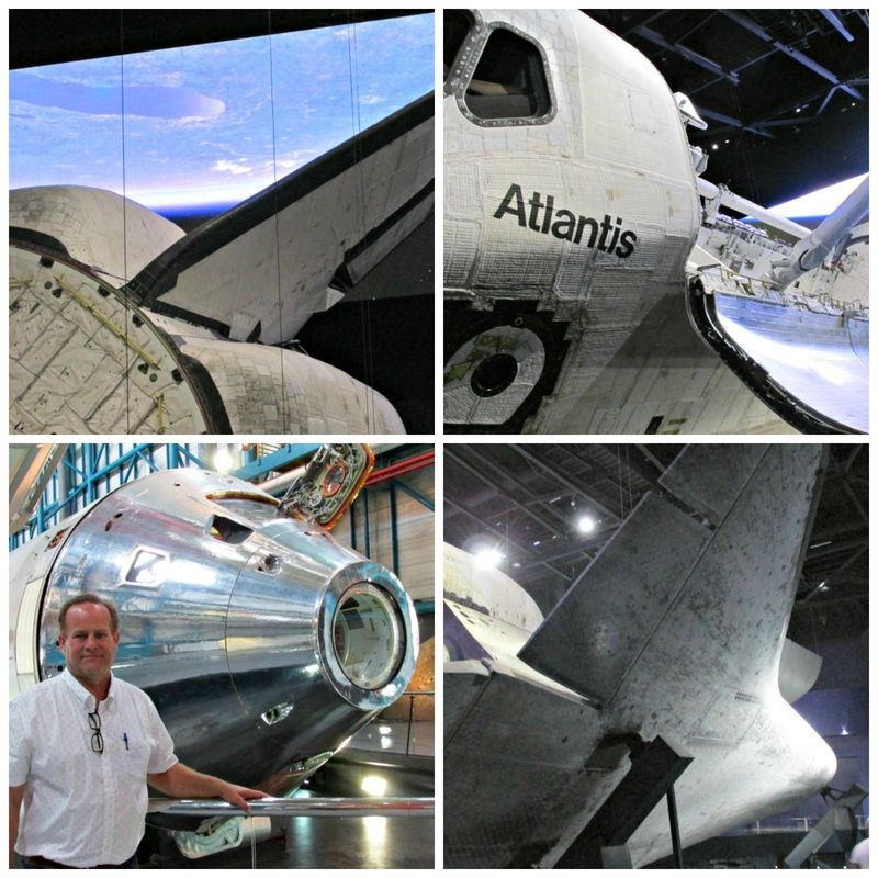 Kennedy space center altantis Collage