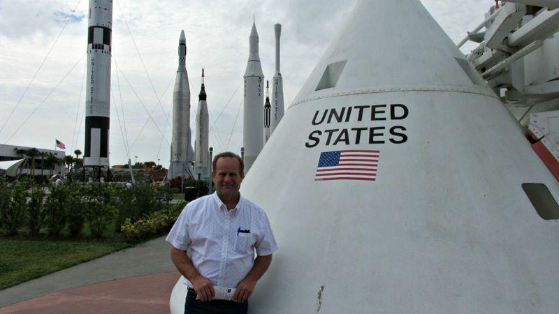 Kennedy Space Danny rockets