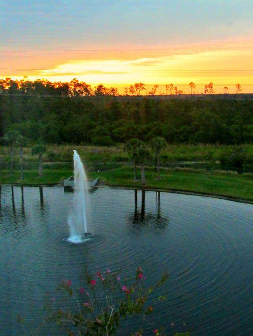 Orlando Florida resort view