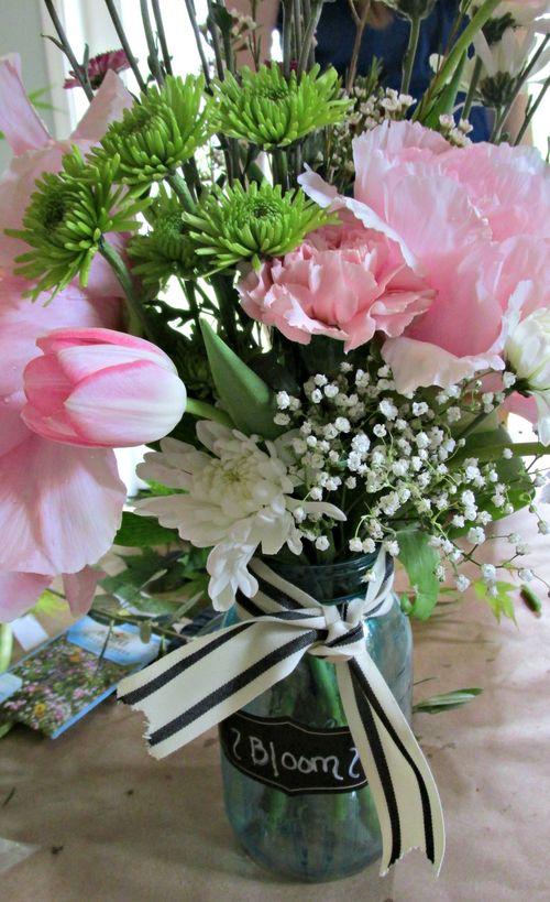Flower potluck centerpiece bloom