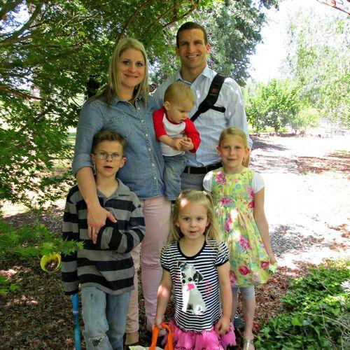 Family easter egg hunt sams family 2