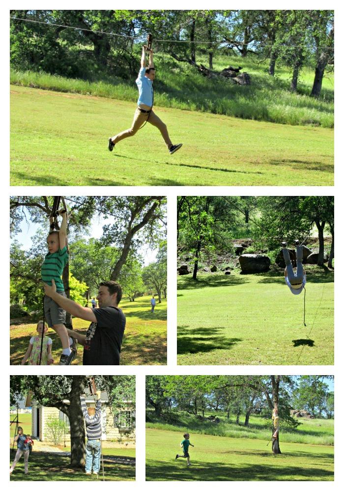 Zipline Collage