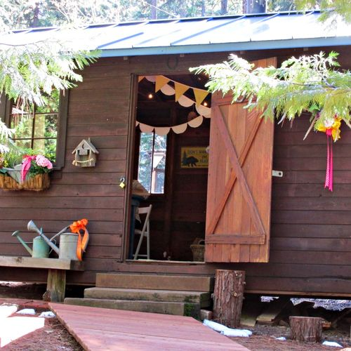 Cabin cooking class- bunkie
