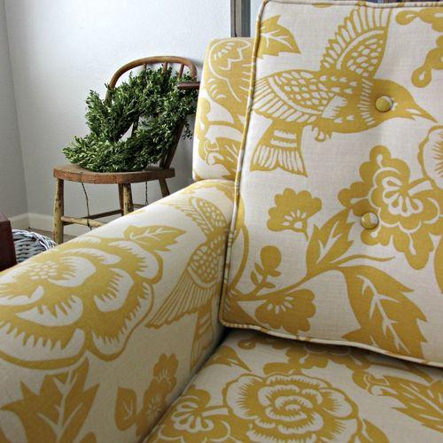 Yellow chair 5