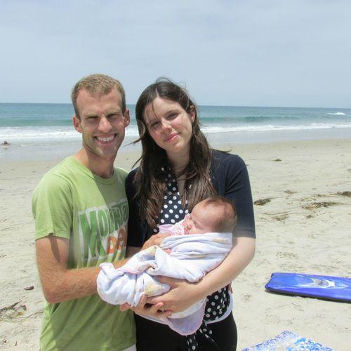 Ponto beach Mason and Jessica