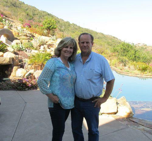 Teresa and Dan