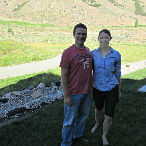 Kent and becca backyard