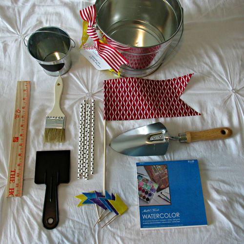 Pie in July sandcastle kit