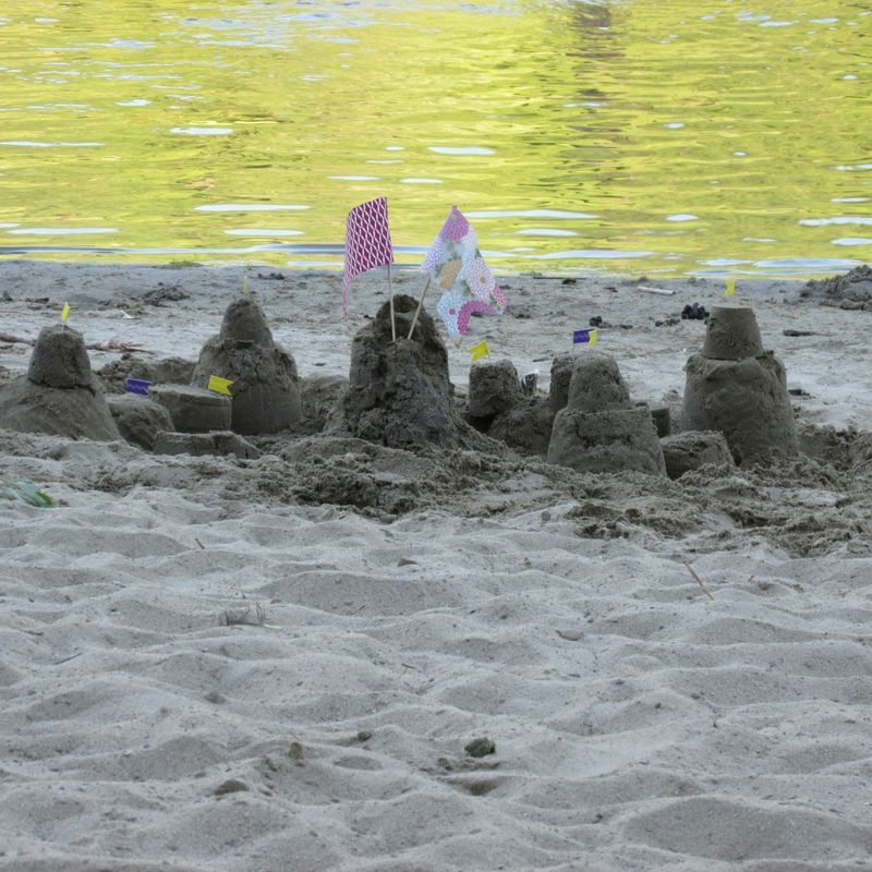 Sandcastle water