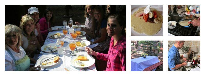 Pie in July Breakfast Collage