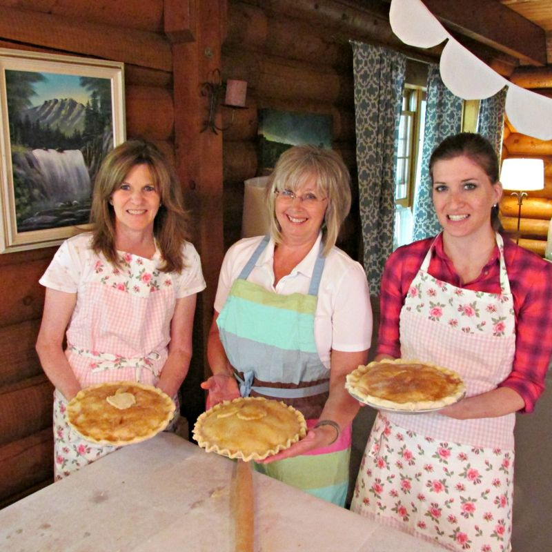 Pie in july bev ruth bree