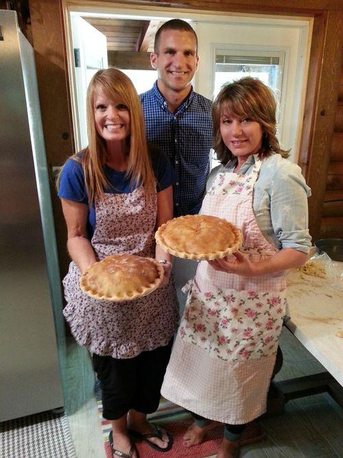Pie in july sam and sandi