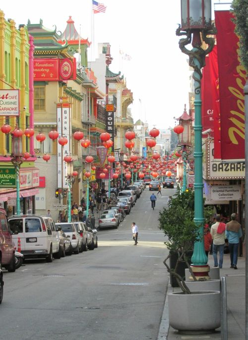 San Francisco China Town lanterns