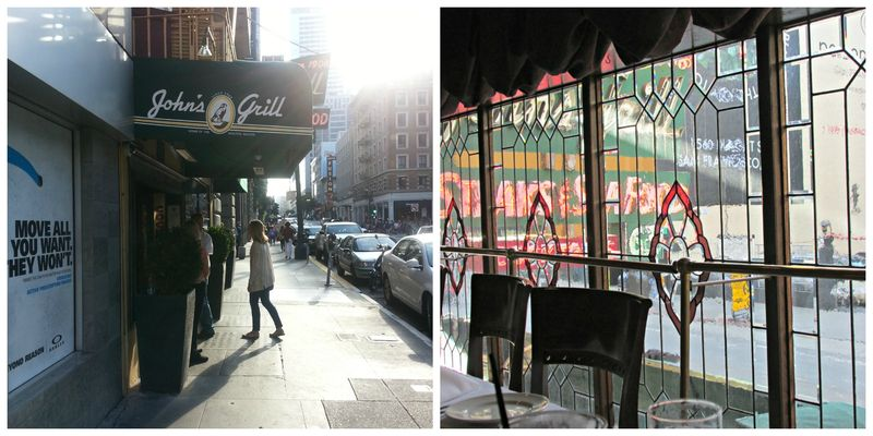 San Francisco Johns grill Collage