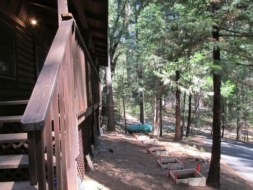 Cabin porch 2