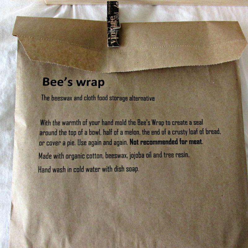 Pie in July pie box bees wrap