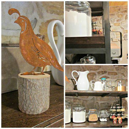 Cabin shelf Collage