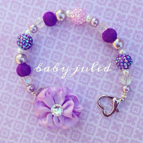 Baby juled purple