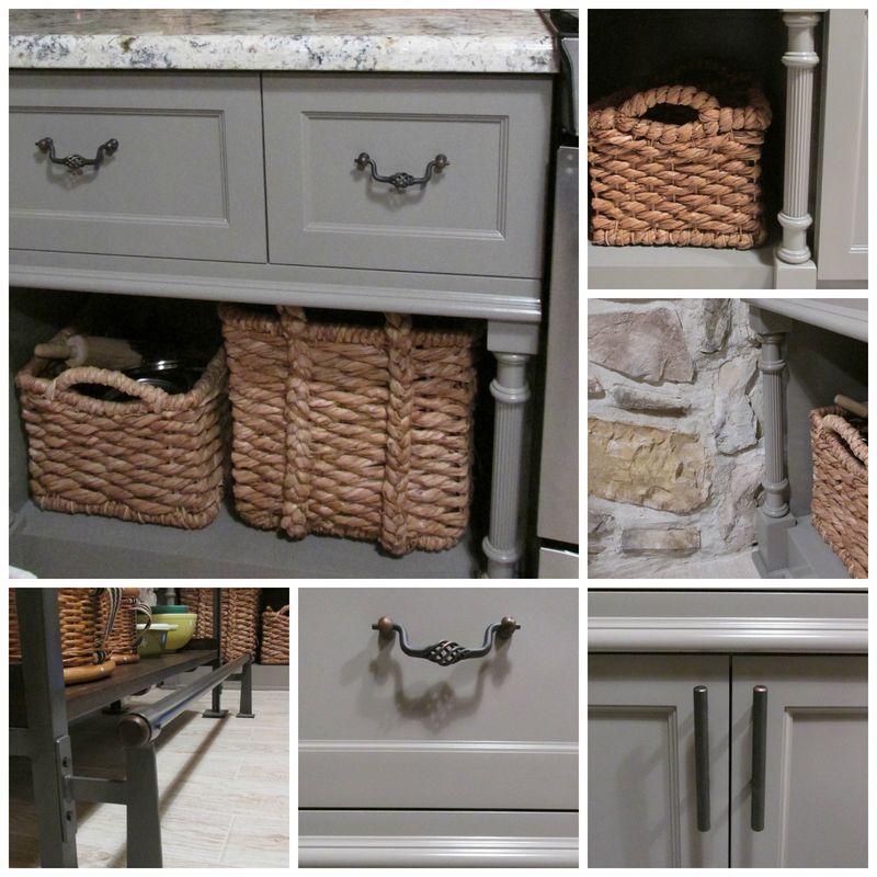 Cabin kitchen details Collage