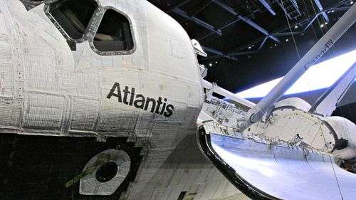 Kennedy space Atlantis side