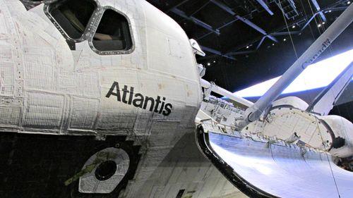 Kennedy space Atlantis side