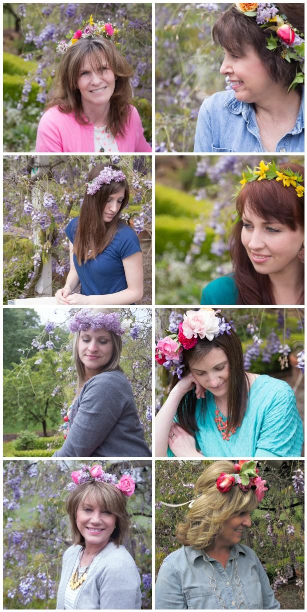 Flower potluck teresa crown