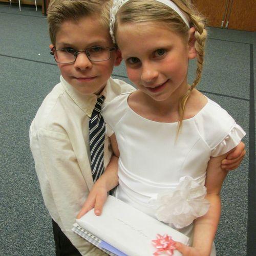 Carlee and preston