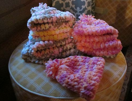 Cabin cooking class hats