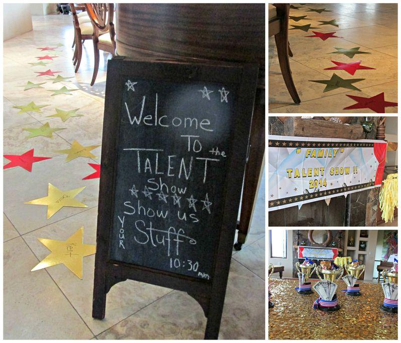 Talent show welcom