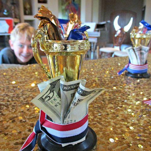 Talent show trophy