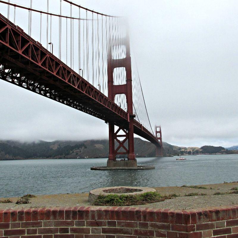Golden gate bridge Ca.